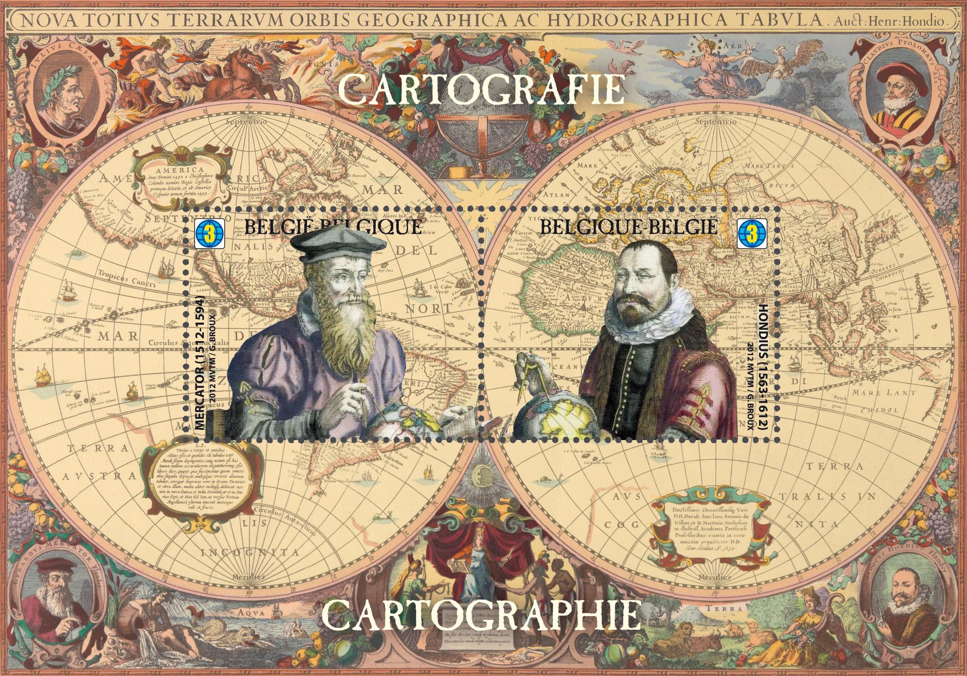 Mercator's 1569 world map