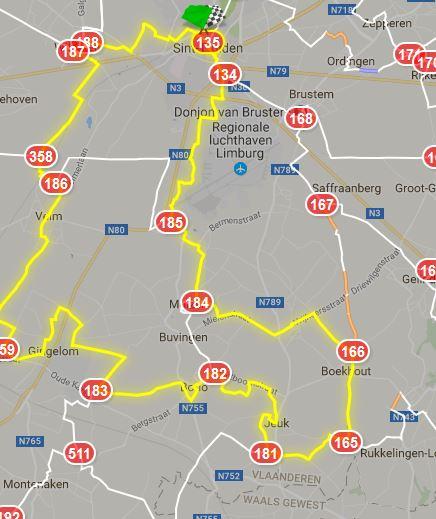 Sint-Truiden 46 km